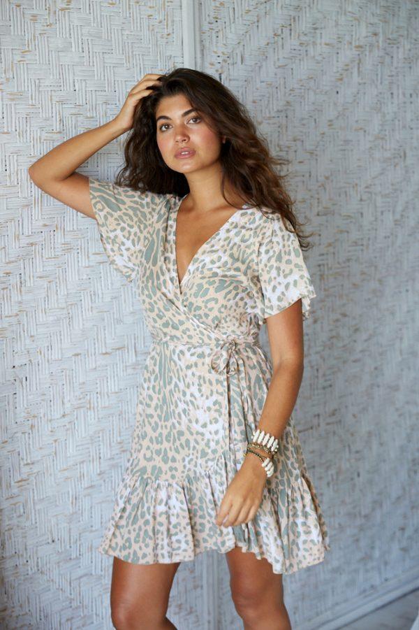 Dress Julia Suede Leopard · Quick View 32b539166