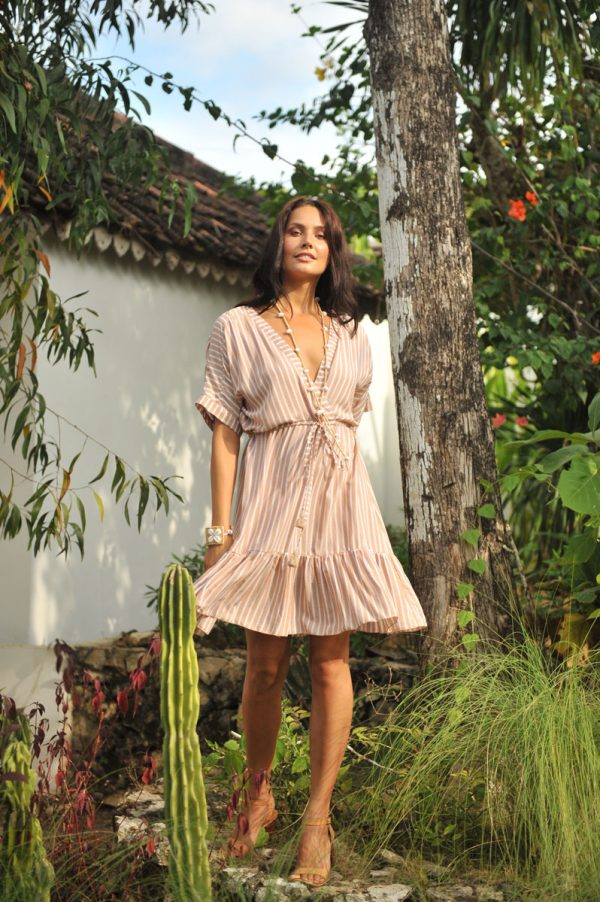 1. W20134 Dress Goldy Deauville Biscuit