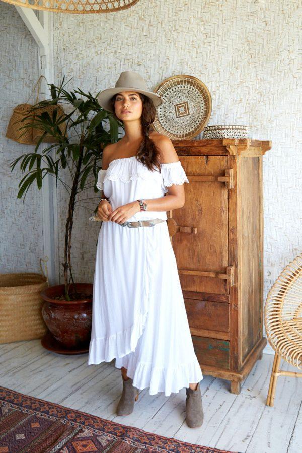 18. WP20137 Dress Moana Long White