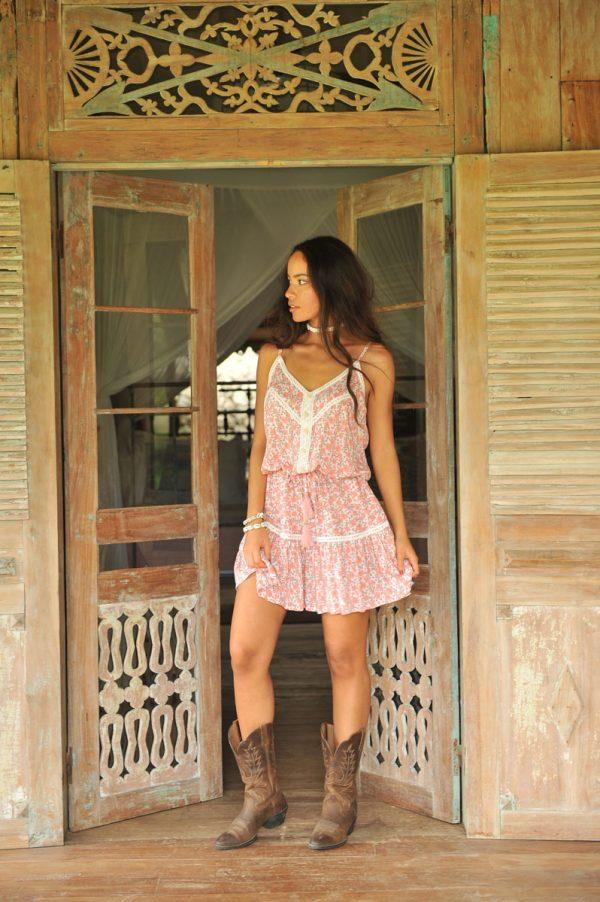9. K2011 Dress Daisy Poppy Ivory (5)