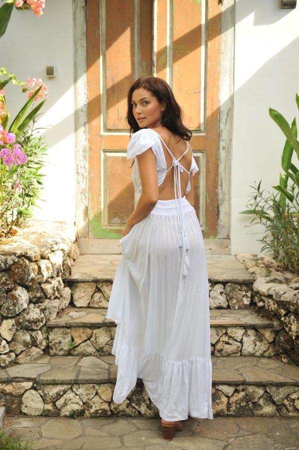15. BR2006 Dress Isabelle White