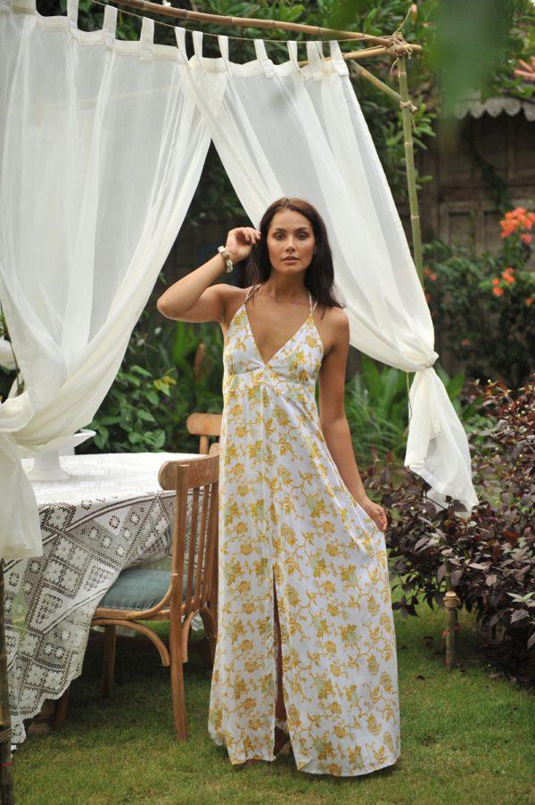 2. B2004 Dress Indy Wild Bloom Yellow