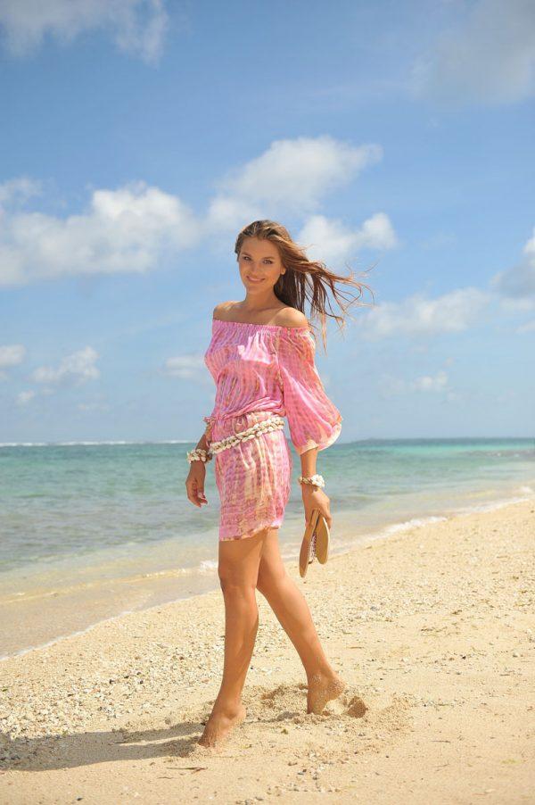 2.5 A20392 Dress Bibi Moonstone Pink (5)