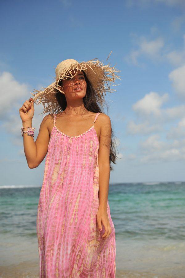2.9 A20380 Dress Anna Moonstone Pink (2)
