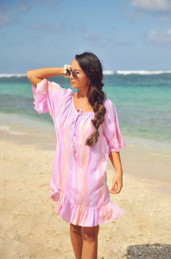 24. A20309 Dress Talamanca Papagayo Pink