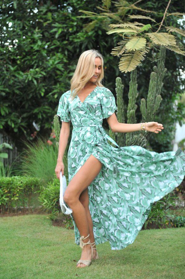 30. A20455 Wrap Dress Dani Eden