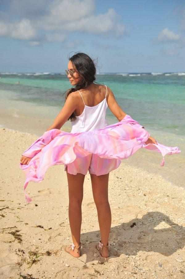 38. A20305 Kimono Tie Dye Papagayo Pink A20304 Short Papagayo Pink A20343 Top Nina White (4)