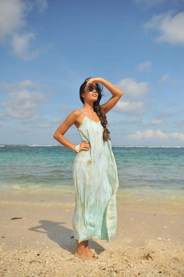 44. A20380 Dress Anna Moonstone Sea Mist