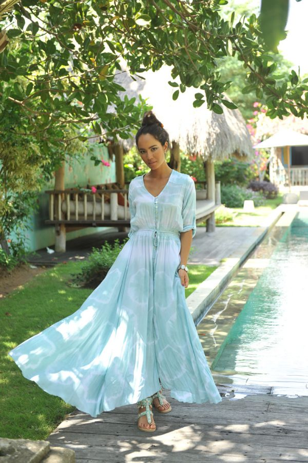 5. A20336 Dress Mila Sol Sea Mist