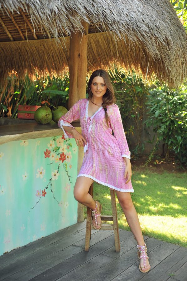 51. A20382 Tunic SK Moonstone Pink