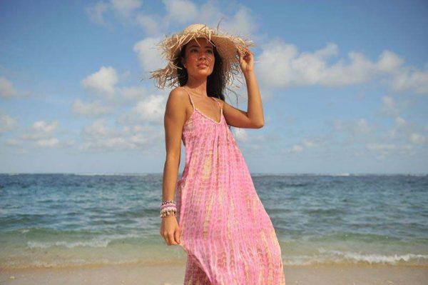 Dress Anna Moonstone Pink 3