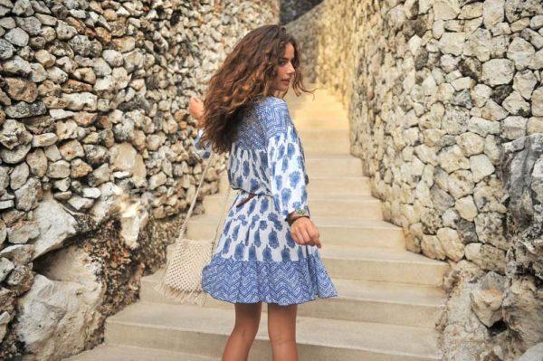 Dress Rosalie Blue 2