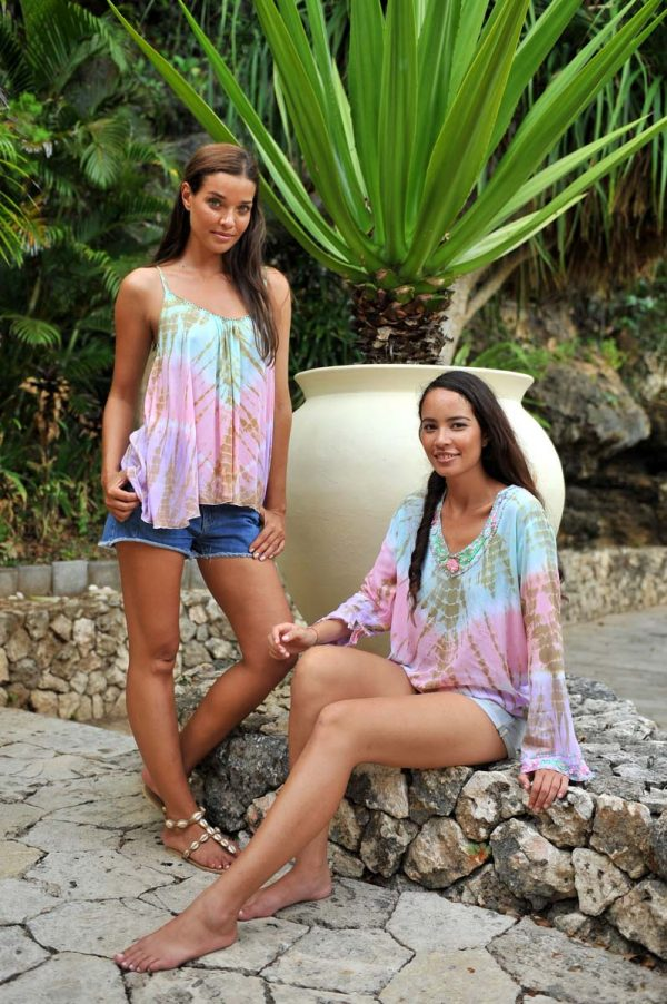 Blouse Italy Tiger Lily