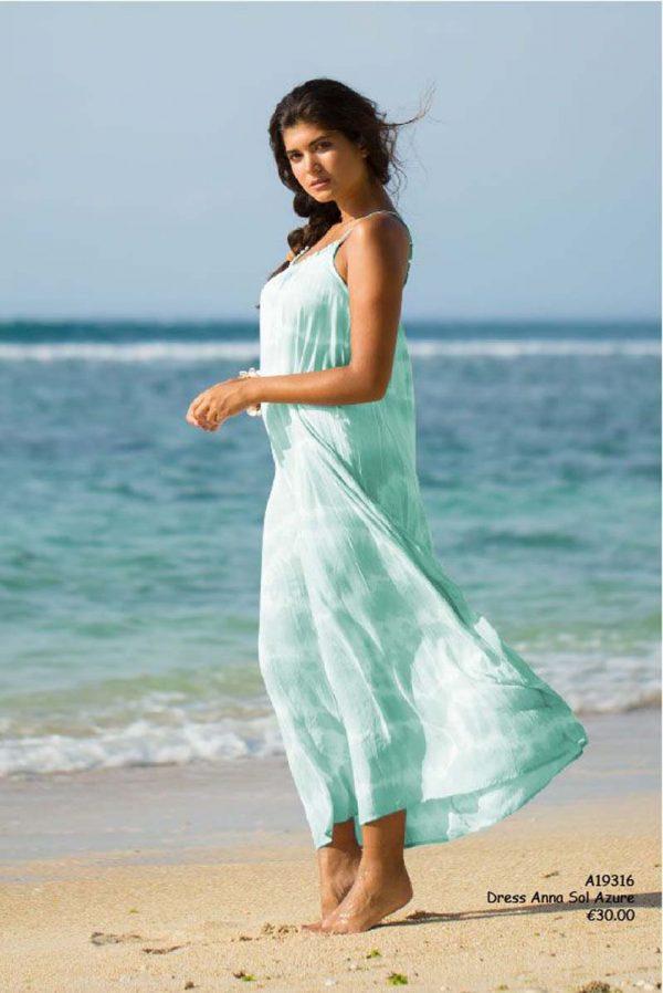 dress anna sol azure